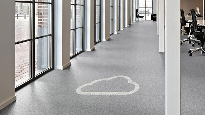 Philips Işıklı zemin kaplama, bulut tabanlı yönetim yazılımı ile bina yönetim sisteminize bağlanır